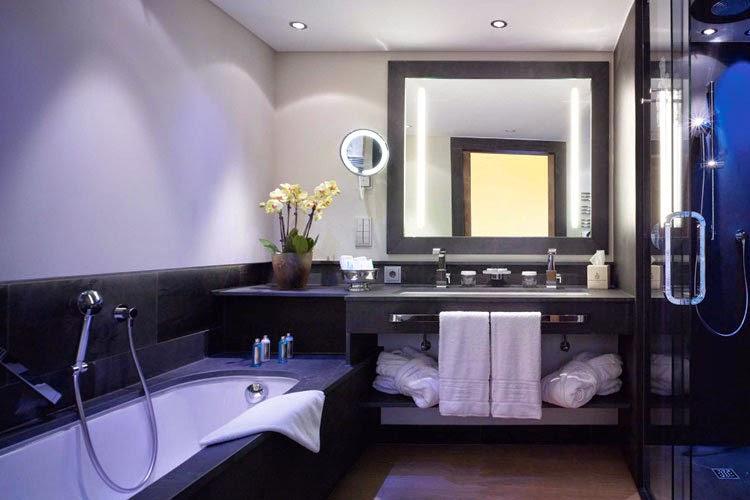 diseño baño de lujo
