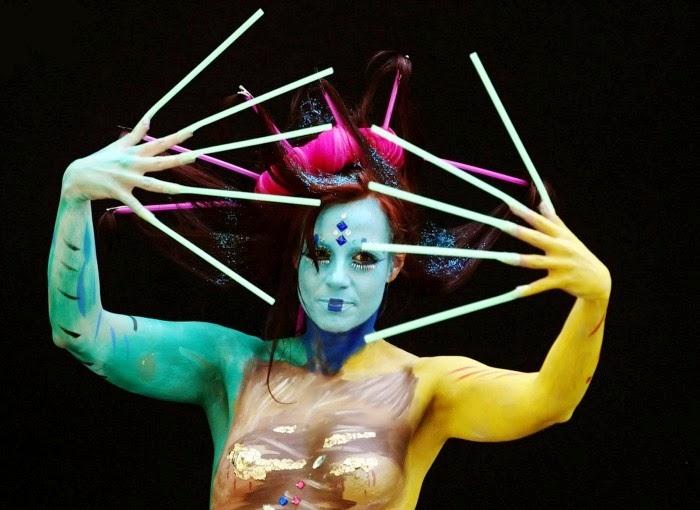 Бодиарт фестиваль в Австрии. World Bodypainting Festival