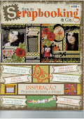 My work published on Guia de Scrapbooking & Cia #17