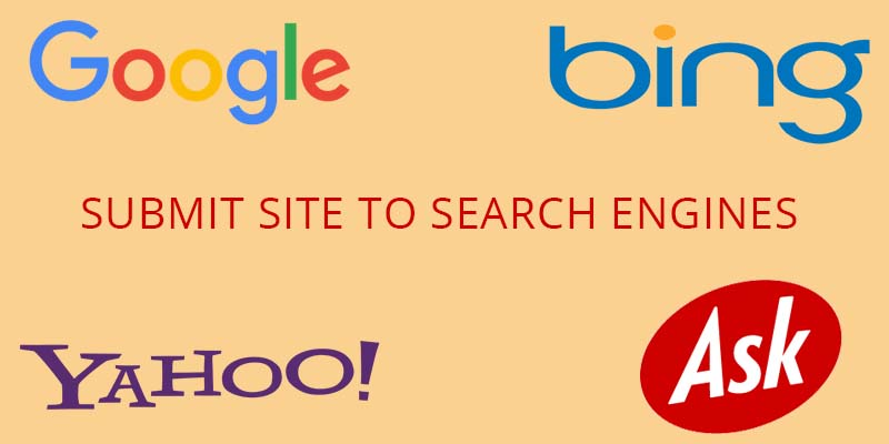 Site submission to Search engines
