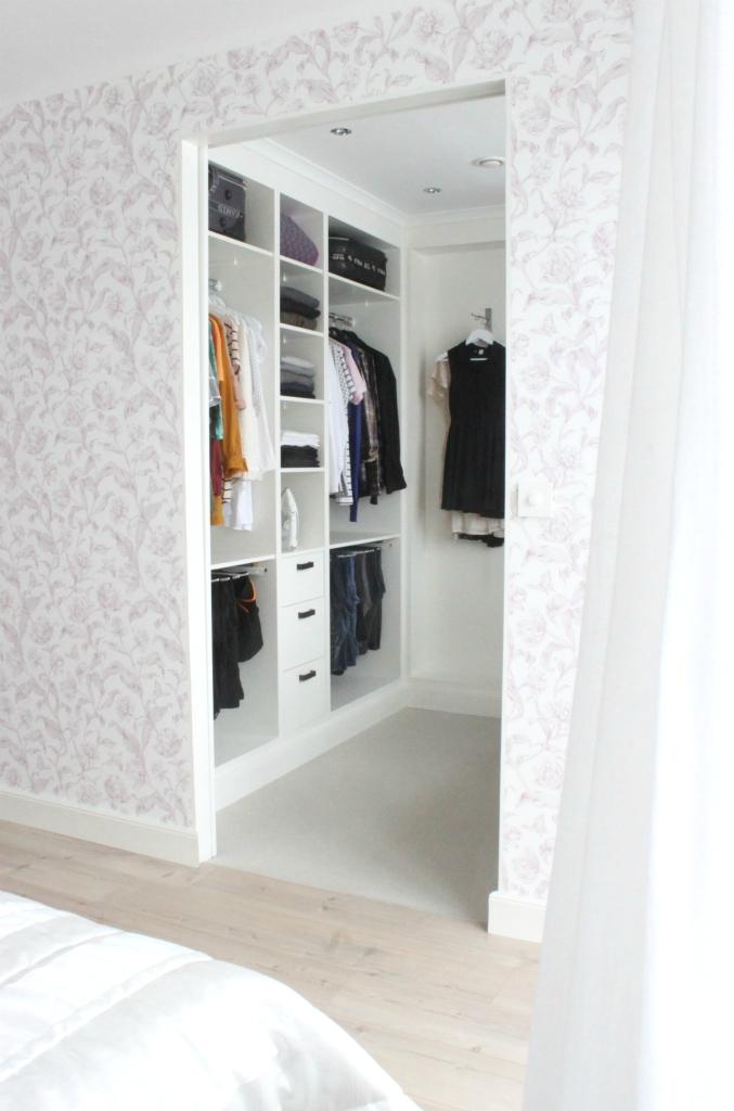 It's a house en av Sveriges största inredningsbloggar Walk in closet