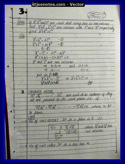 vector notes physics3