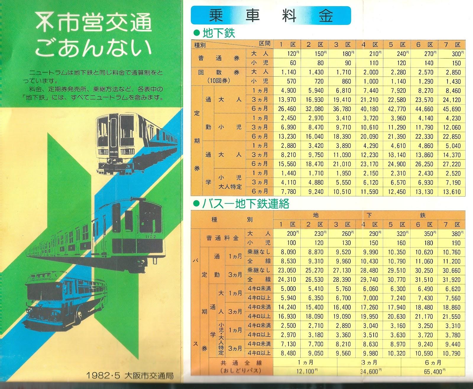 時刻 大阪 表 バス メトロ