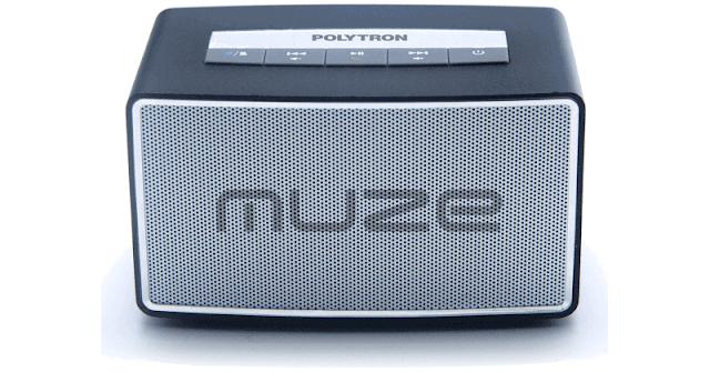 Harga Speaker Bluetooth Polytron Muze PSP-B1 Black