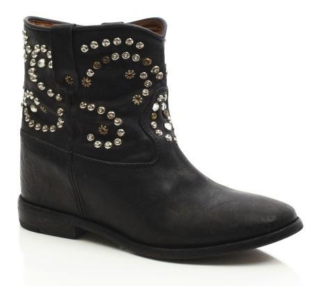 boots cloutées Isabel Marant