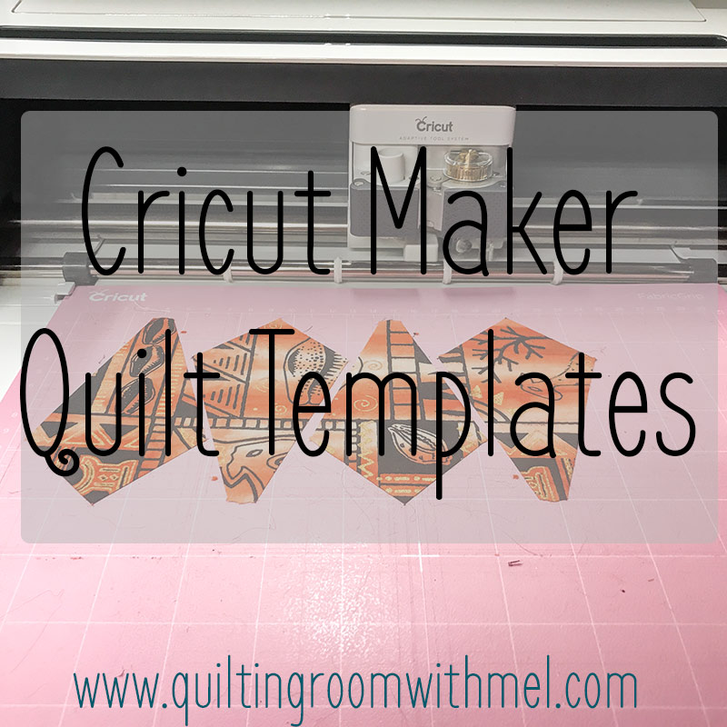 Need a template cut for your next quilt project? Let Cricut Maker do the work so you quilt pieces turn out perfectly.