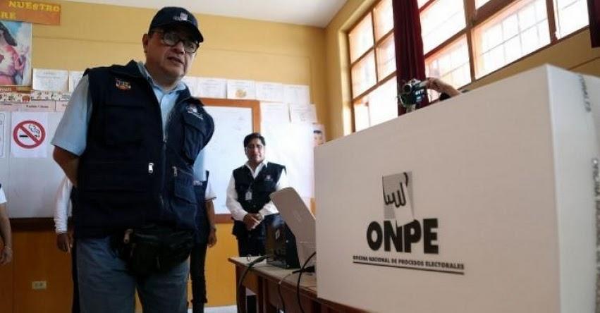 ELECCIONES 2018: Tienes 3 días de descanso si votas en una provincia distinta donde vives - www.onpe.gob.pe