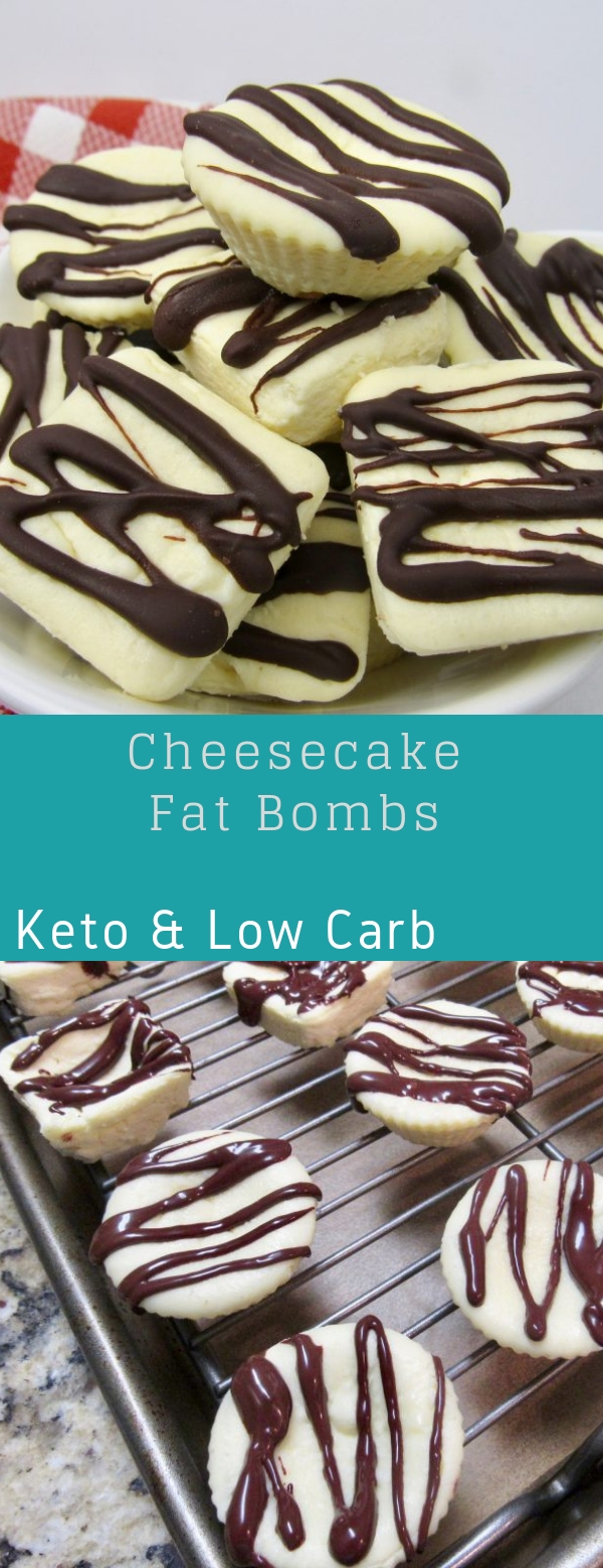 Cheesecake Fat Bombs - Keto and Low Carb
