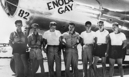 Kesaksian Pilot Amerika yang Menjatuhkan Bom Atom di Jepang