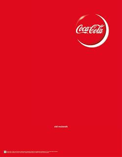 اعلانات شركة كوكاكولا Coca-cola للعيد