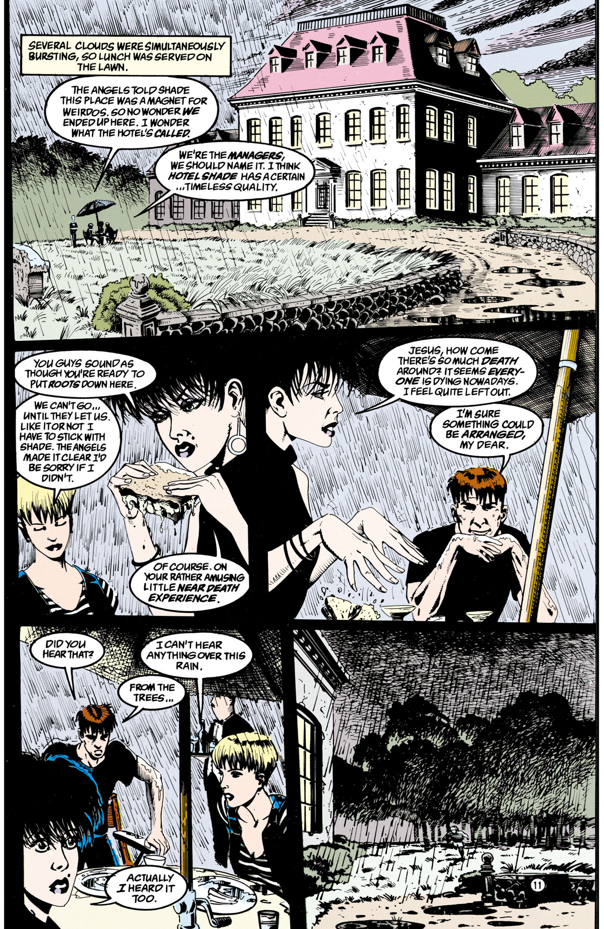 Read online Shade, the Changing Man comic -  Issue #36 - 12