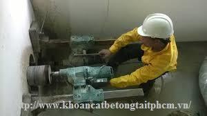 Khoan cắt bê tông tại huyện Vĩnh Hưng