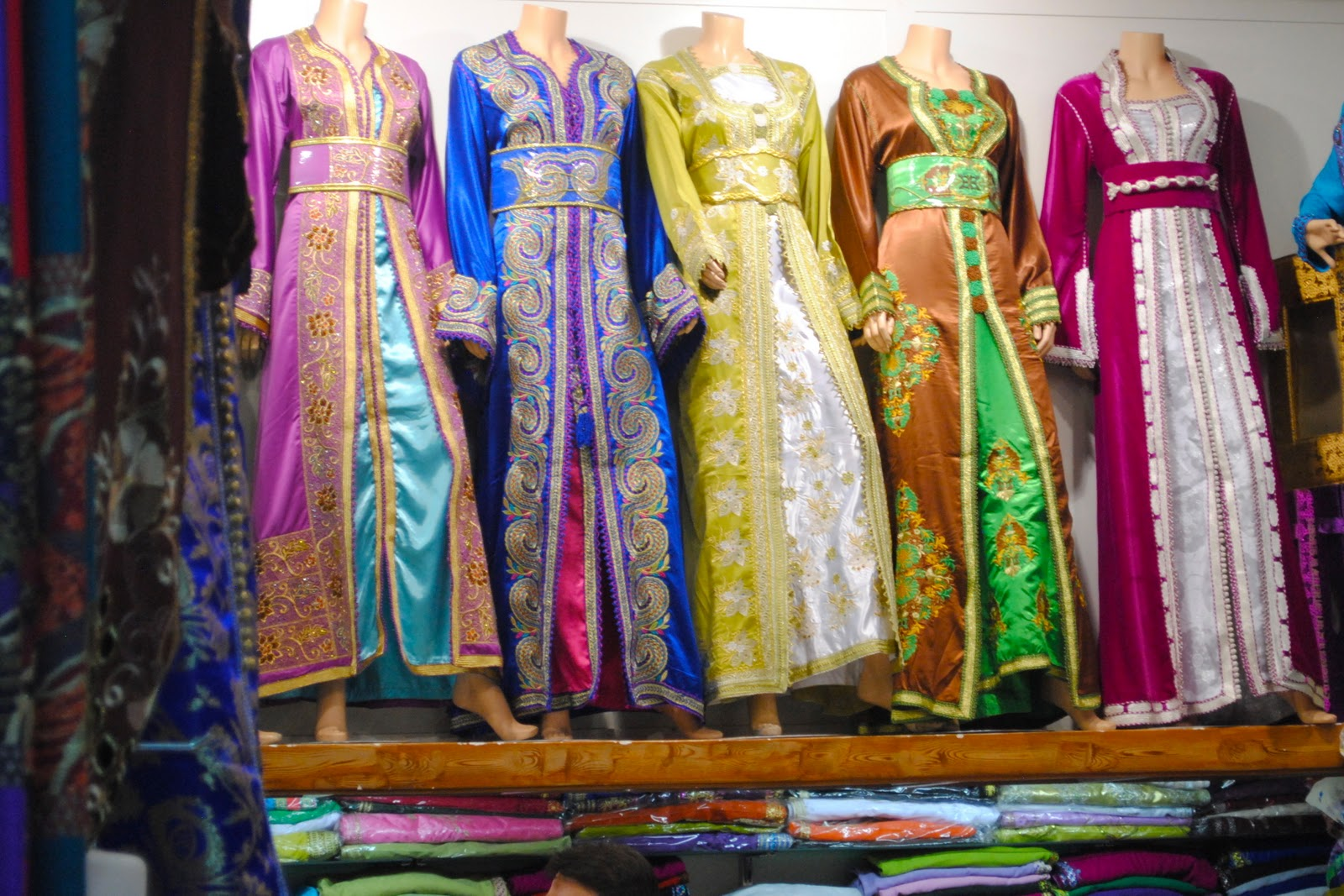 Moroccan clothing store