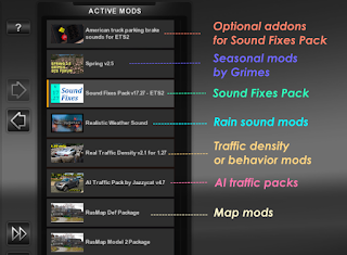 ets2 mods, recommendedmodsets2, ets2 sound mod, ets2 realistic mods, ets2 real sounds mod, euro truck simulator 2 mods, ets 2 sound mods, ets 2 sound fixes pack v18.18 screenshots3