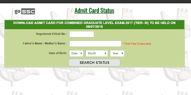 Tier-3 Admit Card