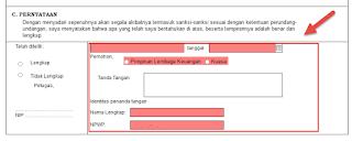 Cara Pendaftaran Lembaga Jasa Keuangan EOI