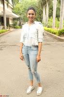 Rakul Preet Singh in Jeans and White Shirt At Jaya Janaki Nayaka le Logo Launch ~  Exclusive 047.JPG