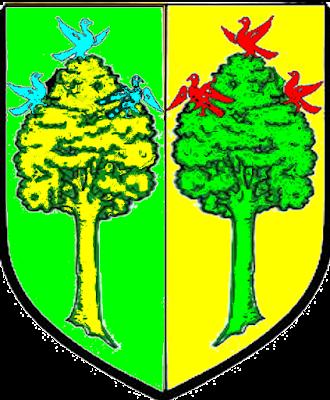 Deux arbres en lisière  Ottrott