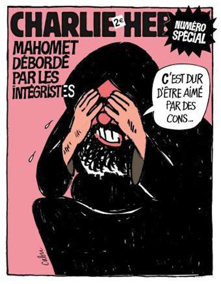 Charlie Hebdo Sonderausgabe 2006; Zeichnung: Cabu
