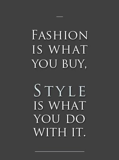 Fashion quotes | Miss Rich