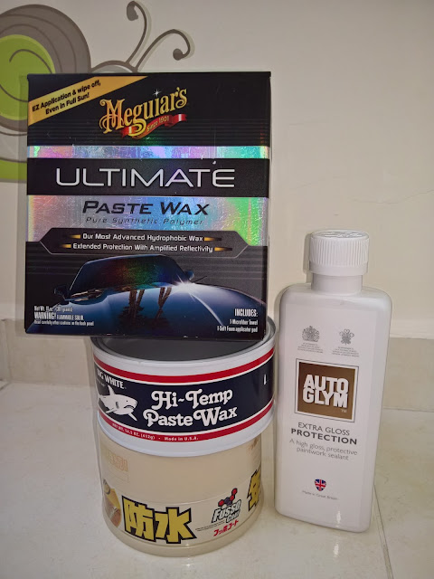 ultimate paste wax, fk1000p, fuso coat, egp