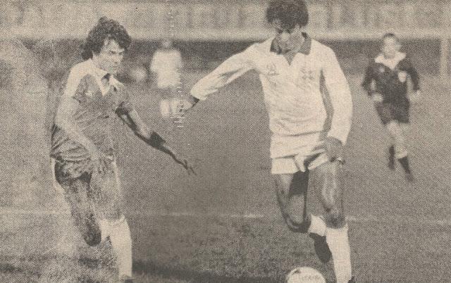 Paraguay y Chile en partido amistoso, 9 de octubre de 1985