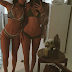Kendall and Kylie Jenner show off their bikini bods