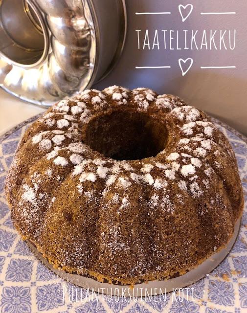 #leivonta #taatelikakku #kuivakakku #baking #deliciousbaking #treats #kakku #maustekakku #taateli #resepti #fariinisokeri #herkullinen #recipe #cakerecipe