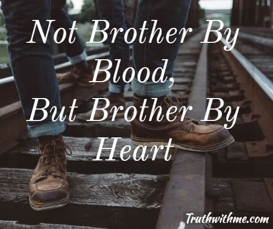 Quotes In Brother: Brothers For Life Quote