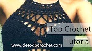 Top Tejido con Ganchillo para lucir en verano / 3 Tutoriales