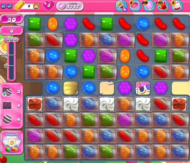 Candy Crush Saga 1717