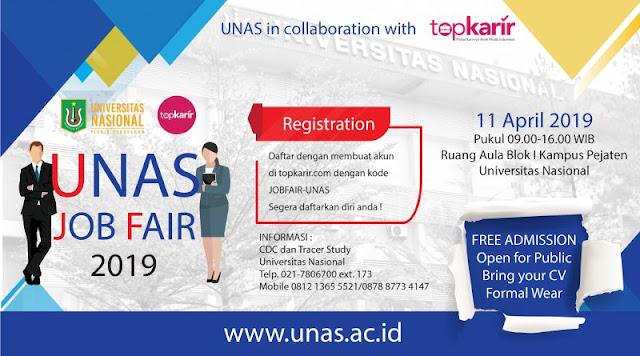 Job Fair UNAS Jakarta