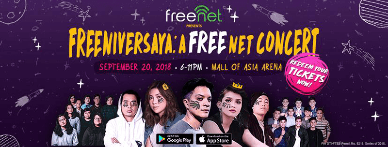 The freenet concert!