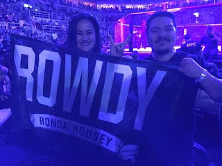 Rowdy Ronda Rousey Flag | Banners.com