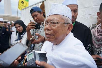 MUI Milik Umat Islam.. Terkait Islam Nusantara, Ma'ruf Amin Harusnya Menyatukan Bukan Memaksakan