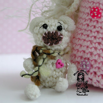 crochet toy, crochet decoration, crochet doll, vendula maderska design, crochet for children, teddy bear, magic with hook and needles