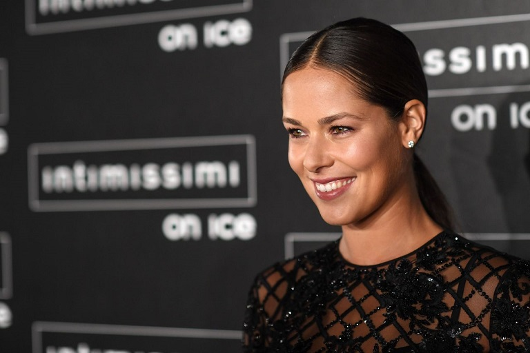 Ana Ivanovic attends the Intimissimi on Ice Fashion Show in Verona