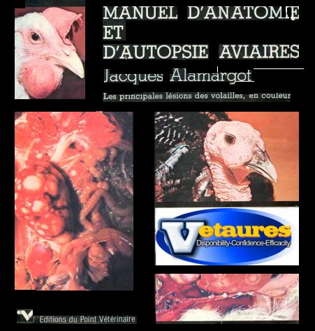 Manuel d'anatomie et d'autopsie aviaires  -WWW.VETBOOKSTORE.COM