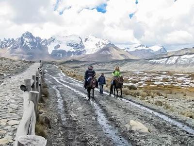 Pastoruri Glacier, Pastoruri hikking
