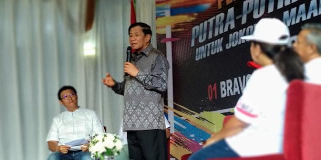 Agum Gumelar Duga Jokowi Sudah Kehilangan Kesabaran