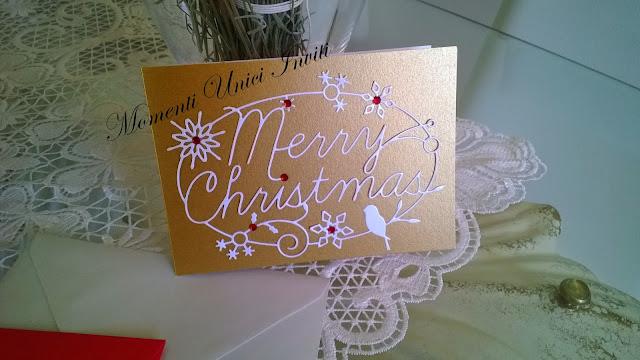 1 Card per i tuoi auguri nataliziCard di Natale
