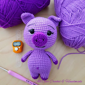Amigurumi squirrel crochet pattern (With images) | Wzory ... | 280x280