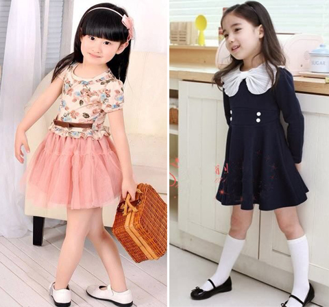 gambar baju anak import korea