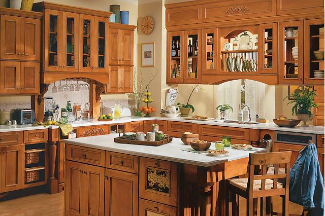 Thiết kế tủ bếp gỗ đẹp - Mẫu số 2