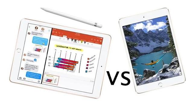 iPad 9.7 vs iPad mini 4