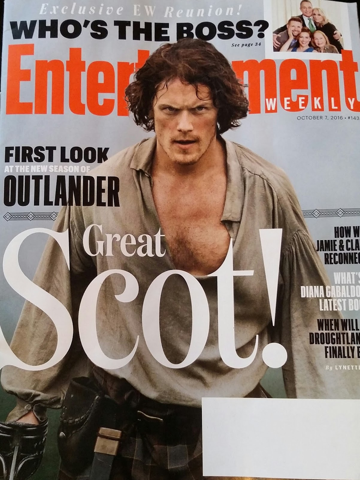 Outlander Season 4 Release Date: Outlander Homepage: The Entertainment Weekly Article Is