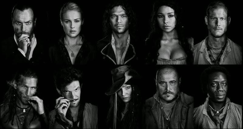 Starz's 'Black Sails' Renewed for Third Season | Hollywood ... |Starz Black Sails Cast