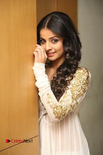 Telugu Actress Mahima Makwana Stills in White Desginer Dress at Venkatapuram Movie Logo Launch  0121.JPG