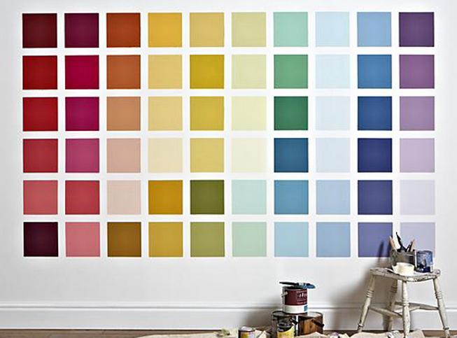 Tabella Colori Per Pareti.Tabella Dei Colori Per Pareti