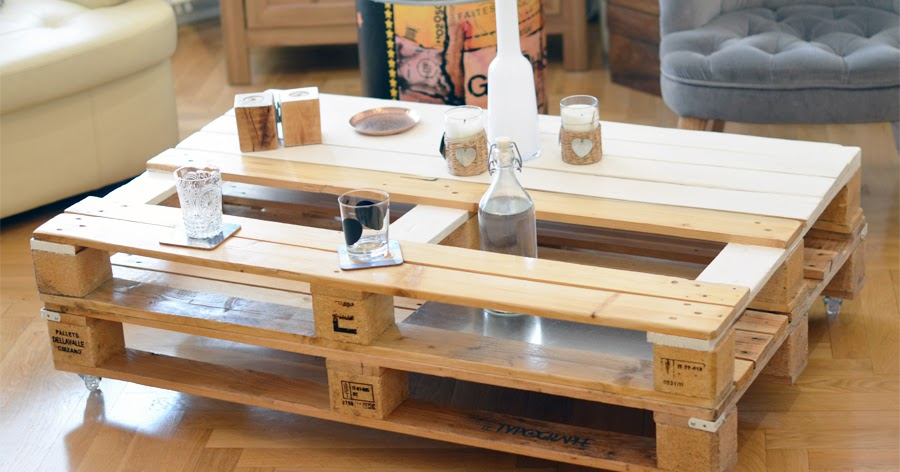 Table Basse Et Bois Tables Support Acier Double Alu De En Palettes XPk8w0nO